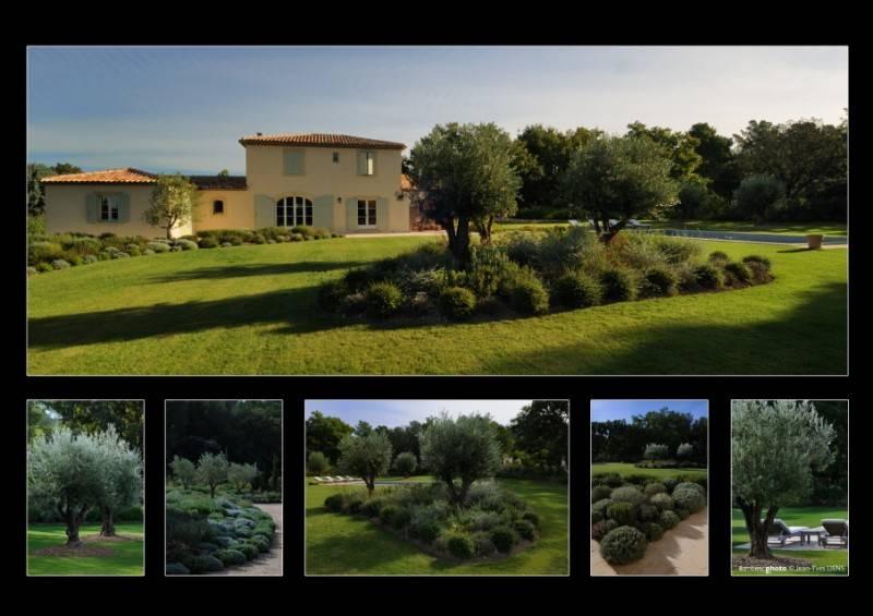 Cr ation d 39 un jardin proven al saint cannat 13 for Exterieur provencal